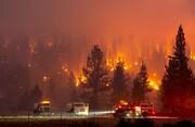 خبری باورنکردنی از دود آتشسوزیهای آمریکا