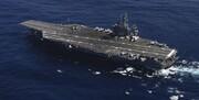 ناو هواپیمابر یواساس نیمیتز وارد خلیج فارس شد