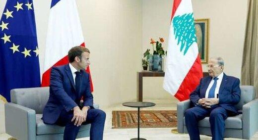 درخواست مکرون از عون در پی عدم تشکیل دولت لبنان