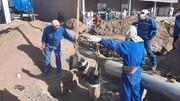 اصلاح لاین خروجی مرکز انتقال نفت سبزوار