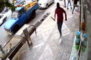 ببینید | حمله وحشیانه با قمه به یک مغازهدار