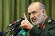 ببینید | سردار سلامی: اگر یک تار مو از یک ایرانی کم شود تمام کرک و پشم شما را به باد میدهیم