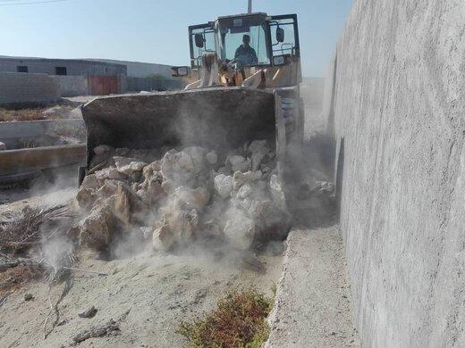 رفع تصرف اراضی ملی به ارزش بیش از ۶۰۰ میلیون ریال در روستای کابلی