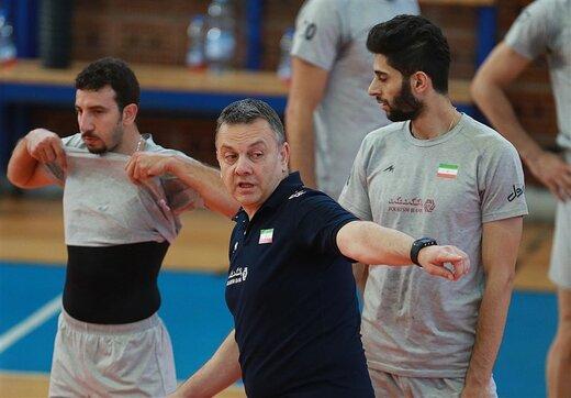 تمجید خاص کولاکوویچ از بازیکنان تیم ملی والیبال ایران