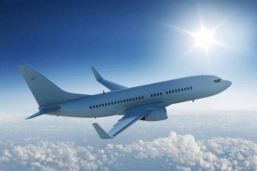 ببینید | تصویری دیدنی از زاویه ای جذاب از تیکآف هواپیما