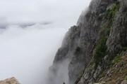 ببینید | غوطه ور شدن دیلمان در مه