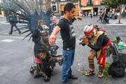 عکس | اقدام عجیب جادوگران علیه ویروس کرونا !
