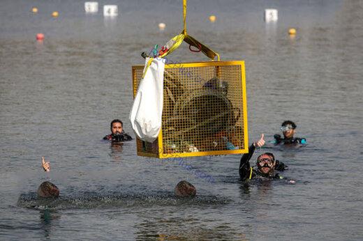 ببینید | دریاچه آزادی پاک شد