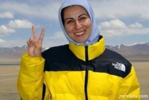 """یک زن ایرانی با قدمهایش ترسیم میکند؛""""جاده صلح ۲۰۲۰"""" از میدان آزادی تهران تا دور دنیا"""