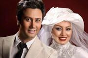 تصاویر | بازیگران در لباس عروسی و دامادی چه شکلی میشوند؟