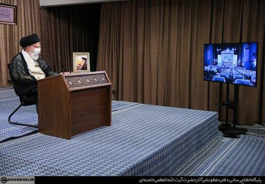 رهبر انقلاب: قبول قطعنامه از سوی امام مدبرانه و عاقلانه بود