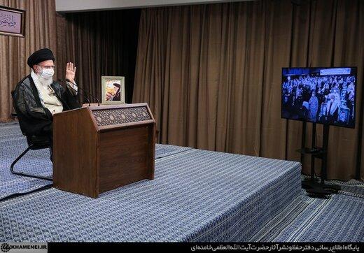 سخنرانی تلویزیونی در آئین تجلیل از پیشکسوتان دفاع مقدس