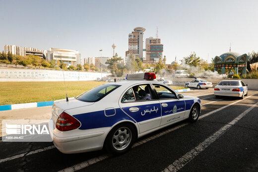 پاسخ پلیس راهور به انتشار کلیپ درگیری مامور راهور با موتورسوار متخلف