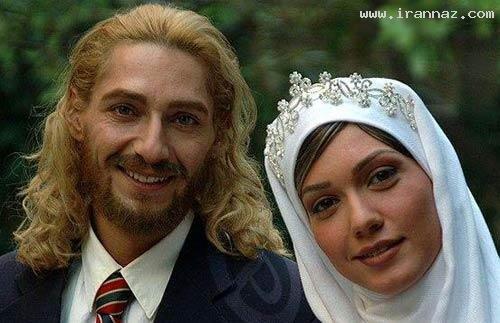 بازیگران در لباس عروسی و دامادی چه شکلی میشوند؟