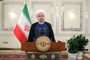 "Pres. Rouhani: Today is time to say ""no"" to bullying and arrogance"