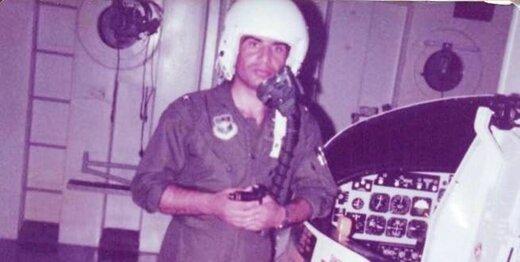 خلبانی که پشت بیسیم جنگنده قرآن میخواند / من آمریکا نمیآیم!