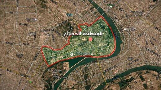 حمله موشکی به منطقه سبز بغداد/تا کنون 1کشته و 5 زخمی