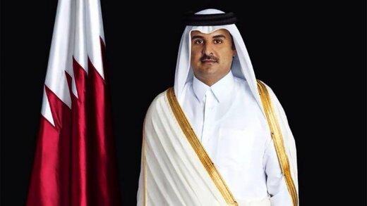 امیر قطر بر تشکیل کشور مستقل فلسطین تاکید کرد