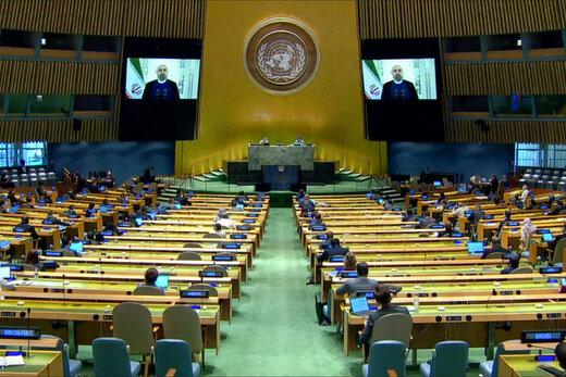 آسوشیتدپرس:سخنرانی روحانی آتشین بود،آمریکا تسلیم ایران خواهدشد