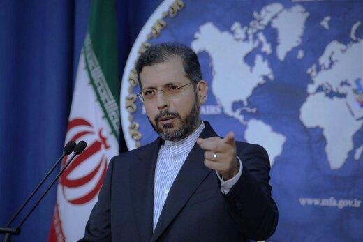 اخطار سخنگوی وزارت خارجه نسبت به اصابت راکت به مرزهای شمالی ایران