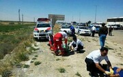 کشته شدن ۴ کهگیلویه و بویراحمدی در تصادف جاده زابل-زاهدان