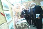 بازدید مشاور وزیر نیرو از نمایشگاه یادیاران در شرکت توزیع برق استان سمنان