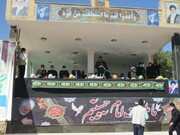 برگزاری مراسم توزیع ۹ هزار بسته لوازم ورزشی در قالب کمک های مومنانه در سراسر استان +تصاویر