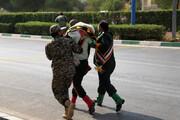 ببینید | انتشار فیلمی جدید از حادثه تروریستی اهواز