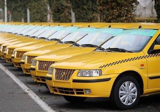 اقدام نوع دوستانه یک راننده تاکسی در روزهای کرونا /عکس