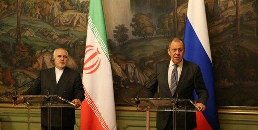 ظریف: ایران و روسیه توسعه همکاریها را پیگیری میکنند/لاوروف: برگشت تحریمها علیه تهران امکان تحقق ندارد