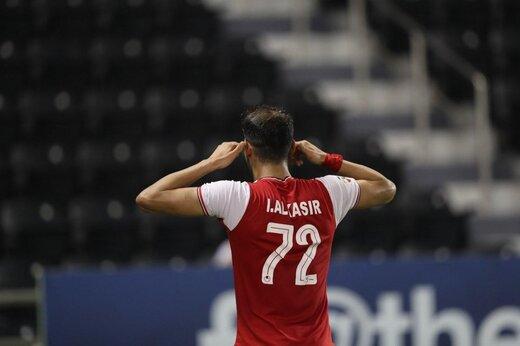 آل کثیر بهترین بازیکن یک هشتم نهایی لیگ قهرمانان آسیا شد/عکس