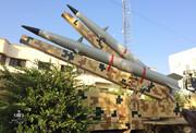 نمایش لانچر دو فروندی موشک «رعد-۵۰۰» هوافضای سپاه