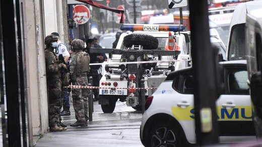 فرانسه حمله در نزدیکی دفتر شارلی ابدو را تروریستی اعلام کرد