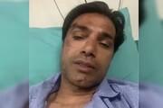 ببینید | پیام امیرحسین صادقی پس از تصادف خونین