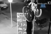 ببینید | سرقت دوچرخه در کمال نامردی!