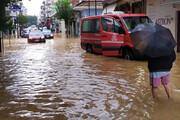 ببینید | تصاویر باورنکردنی از خسارت سیل و طوفان در پایتخت ایتالیا