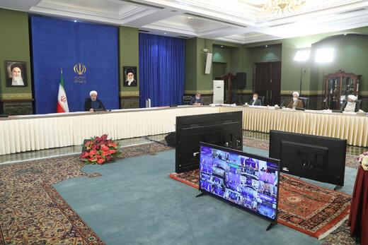 روحاني : البيت الابيض منطلَق كل الجرائم ضد الشعب الايراني
