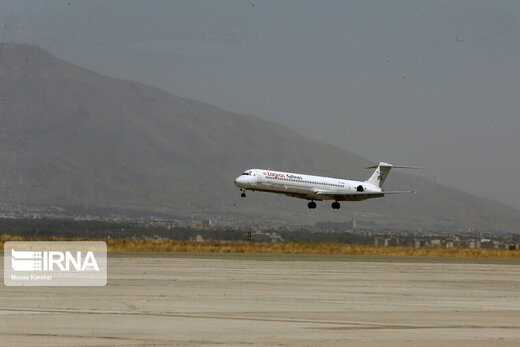 فرود اضطراری یک هواپیما در اندیمشک تکذیب شد