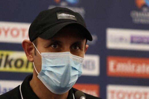 گلمحمدی: بازیکنانم فداکارانه بازی کردند/ کارمان هنوز تمام نشده است