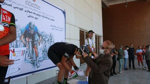 قهرمانی تیم دوچرخه سواری منطقه آزاد انزلی