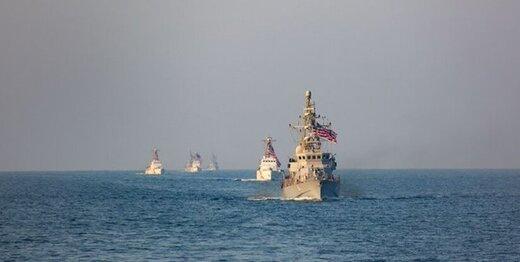 آمریکا در خلیج فارس رزمایش برگزار کرد