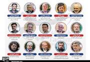 رونمایی از ۳+۱۵ کاندیدای احتمالی انتخابات ۱۴۰۰ /سردار دهقان: با تمام قدرت می آیم/ظریف: قسم حضرت عباس بخورم؟ /فتاح: من از اینکارها می کنم؟