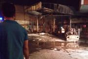 ببینید | انفجار مرگبار پمپ بنزین در قزوین