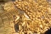 ببینید | کشف ۱۳.۵ تن طلا از زیرزمین خانه شهردار سابق!