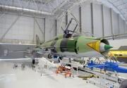 اولین راکت هدایت شونده در کنار جنگنده سوخو۲۲ سپاه + عکس