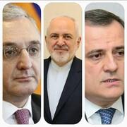 تماس تلفنی ظریف با وزیران خارجه ارمنستان و آذربایجان
