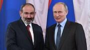 درخواست پوتین از نخستوزیر ارمنستان همزمان با افزایش تنشها در قره باغ