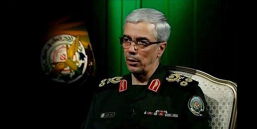 سرلشکر باقری به آمران ترور دانشمند ایرانی: انتقام سختی در انتظارتان است