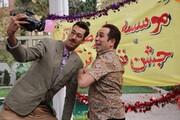 محمدرضا فروتن و بهرام افشاری در «آقای سانسور»/عکس