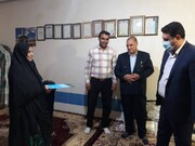 دیدار مدیرعامل شرکت آب منطقه ای کهگیلویه و بویراحمد با خانواده ایثارگران